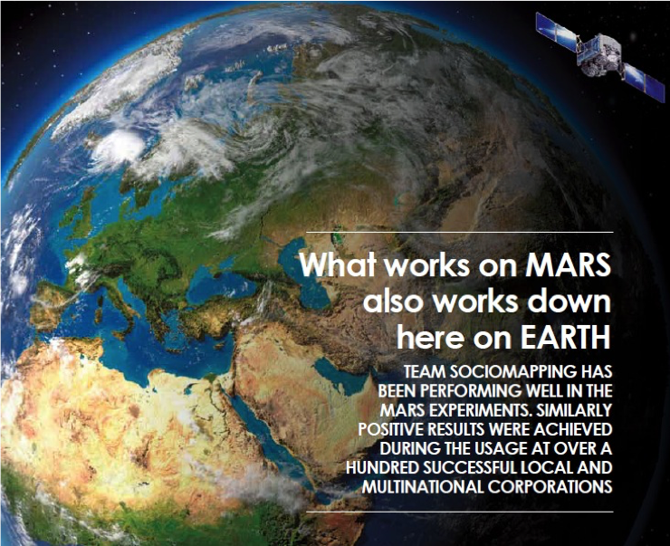 What works on Mars alwo works down here on EARTH
